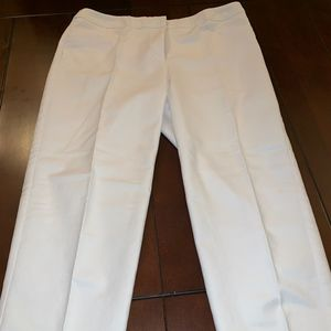 Chico's White Cropped Pants